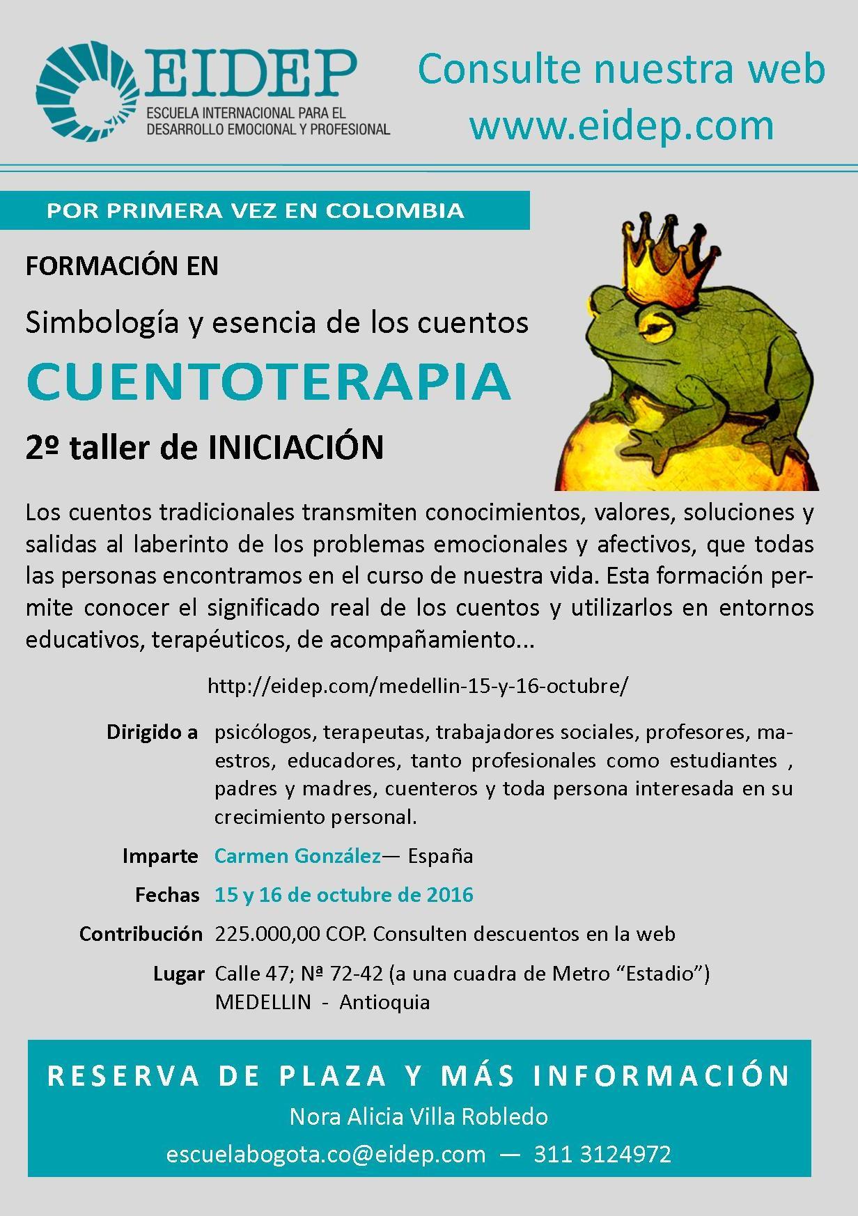 Medellín - 15 y 16 Octubre