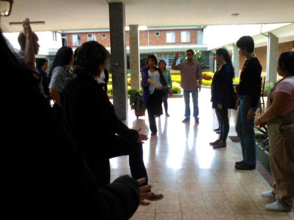 Talleres realizados en Colombia