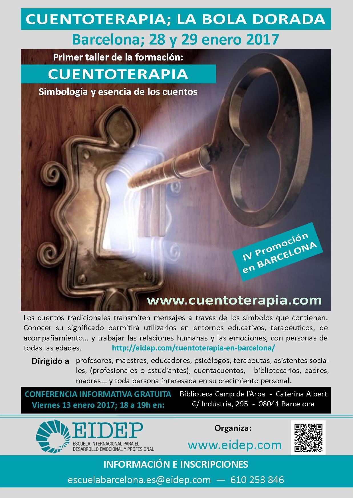 Cuentoterapia en Barcelona